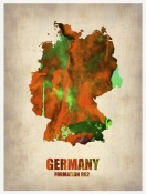NAXART Studio - Germany Watercolor Map