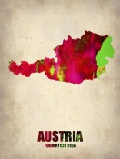 NAXART Studio - Austria Watercolor Poster