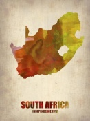 NAXART Studio - South Africa Watercolor Poster