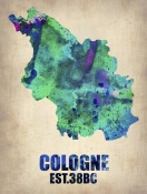 NAXART Studio - Cologne Watercolor Poster