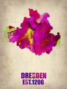 NAXART Studio - Dresden Watercolor Poster