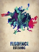 NAXART Studio - Florence Watercolor Poster