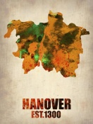 NAXART Studio - Hanover Watercolor Poster