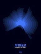 NAXART Studio - Australia Radiant Map 2