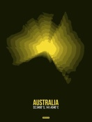 NAXART Studio - Australia Radiant Map 3