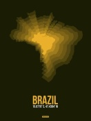 NAXART Studio - Brazil Radiant Map 1