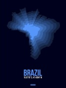 NAXART Studio - Brazil Radiant Map 3