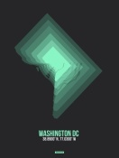 NAXART Studio - Washington DC Radiant Map 3