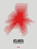 NAXART Studio - Atlanta Radiant Map 1