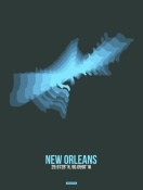 NAXART Studio - New Orleans Radiant Map 2
