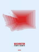 NAXART Studio - Washington Radiant Map 2