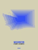 NAXART Studio - Washington Radiant Map 3