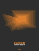 NAXART Studio - Washington Radiant Map 4