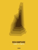 NAXART Studio - New Hampshire Radiant Map 2