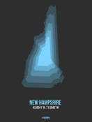 NAXART Studio - New Hampshire Radiant Map 4