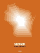 NAXART Studio - Wisconsin Radiant Map 3