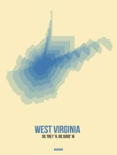 NAXART Studio - West Virginia Radiant Map 1