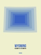 NAXART Studio - Wyoming Radiant Map 1