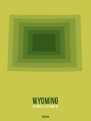NAXART Studio - Wyoming Radiant Map 2