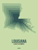 NAXART Studio - Louisiana Radiant Map 2