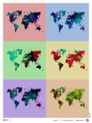 NAXART Studio - World Map Poster