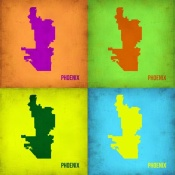 NAXART Studio - Phoenix Pop Art Map 1