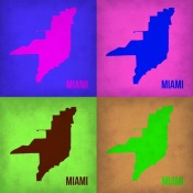NAXART Studio - Miami Pop Art Map 1