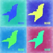 NAXART Studio - Miami Pop Art Map 2