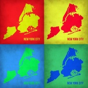 NAXART Studio - New York Pop Art Map 1