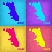 NAXART Studio - Chicago Pop Art Map 1