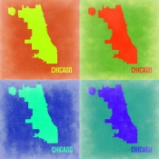 NAXART Studio - Chicago Pop Art Map 2