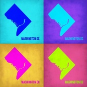NAXART Studio - Washington DC Pop Art Map 1