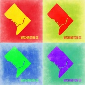 NAXART Studio - Washington DC Pop Art Map 2