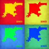 NAXART Studio - Denver DC Pop Art Map 1