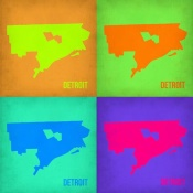 NAXART Studio - Detroit Pop Art Map 1