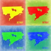 NAXART Studio - Detroit Pop Art Map 2
