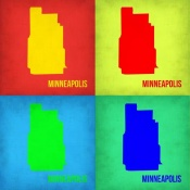 NAXART Studio - Minneapolis Pop Art Map 1