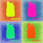 NAXART Studio - Minneapolis Pop Art Map 2