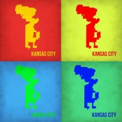 NAXART Studio - KansasCity Pop Art Map 1