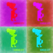 NAXART Studio - KansasCity Pop Art Map 2