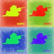 NAXART Studio - Memphis Pop Art Map 2