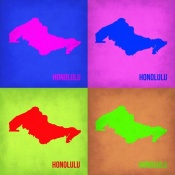 NAXART Studio - Honolulu Pop Art Map 1