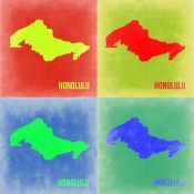 NAXART Studio - Honolulu Pop Art Map 2