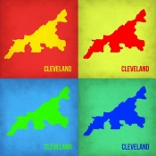 NAXART Studio - Cleveland Pop Art Map 1