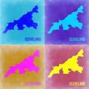 NAXART Studio - Cleveland Pop Art Map 2
