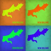 NAXART Studio - New Orleans Pop Art Map 1