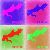 NAXART Studio - New Orleans Pop Art Map 2