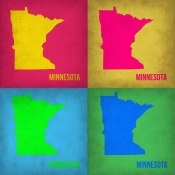 NAXART Studio - Minnesota Pop Art Map 1