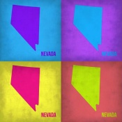 NAXART Studio - Nevada Pop Art Map 1