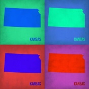 NAXART Studio - Kansas Pop Art Map1